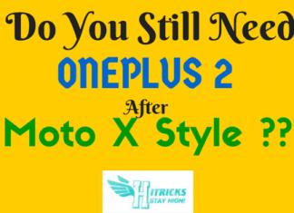 OnePlus Two vs Moto X Style