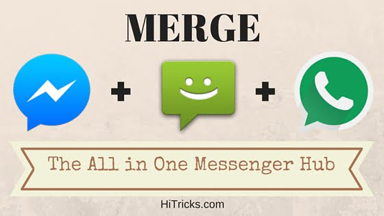 Disa All in One Messenger: Merge Facebook Whatsapp SMS