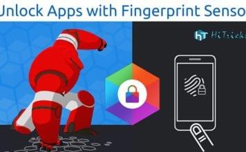 Hexlock: How to Unlock Apps with Fingerprint Sensor?