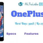 Oneplus 3 Specs Features Review