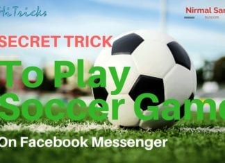 SECRET Trick to Play Soccer on Facebook Messenger
