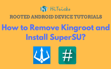 How to remove Kingroot and Install SuperSU on rooted device?