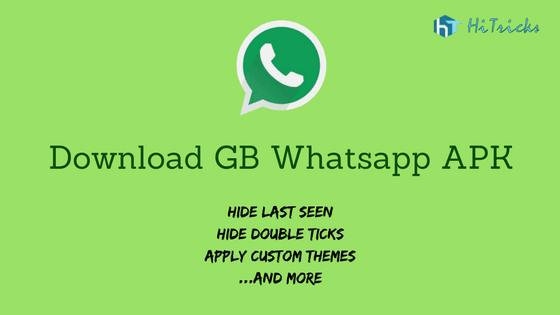 Download Gb Whatsapp Apk How To Use Dual Whatsapp Hitricks