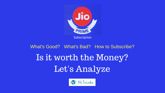 Jio Prime Membership Explained: Is it Worth the Money?