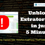 GUIDE: How to Unblock ExtraTorrents in just 5 Minutes?
