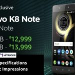 Lenovo K8 Full Phone Specifications and First Impressions