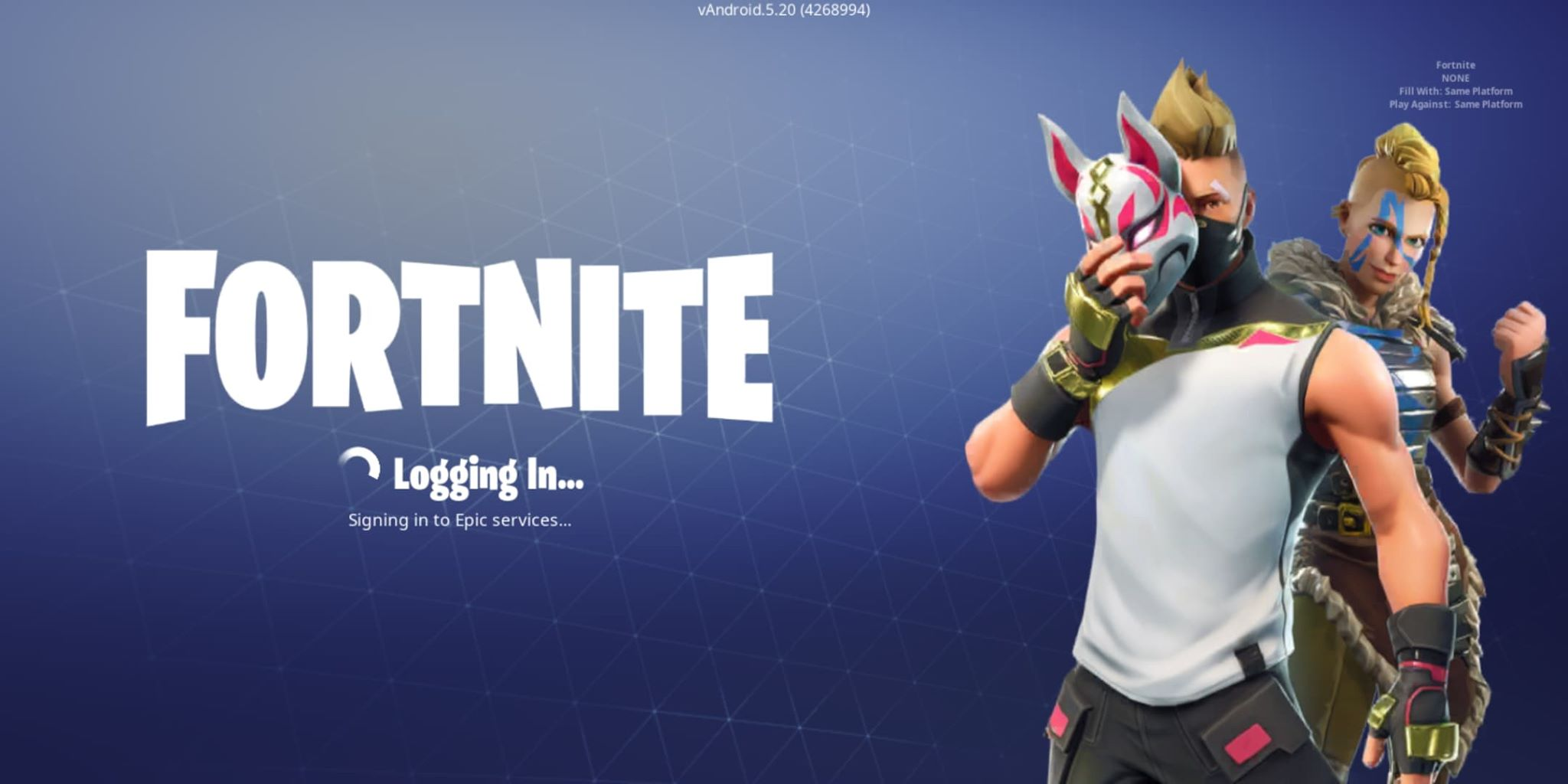 Download fortnite epic games on android