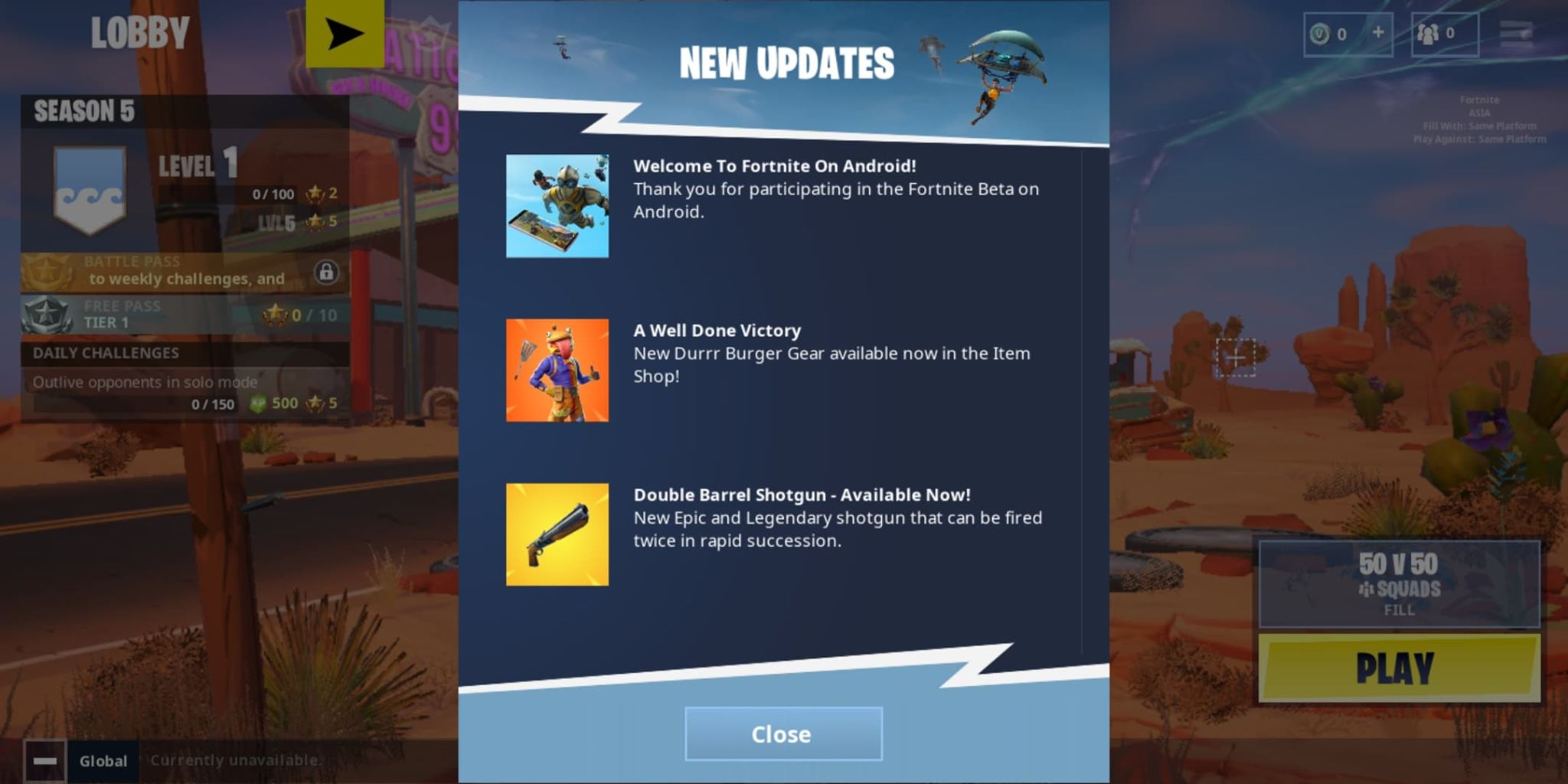 download fortnite battle royale mod apk for all android devices - fortnite android beta apk for unsupported devices
