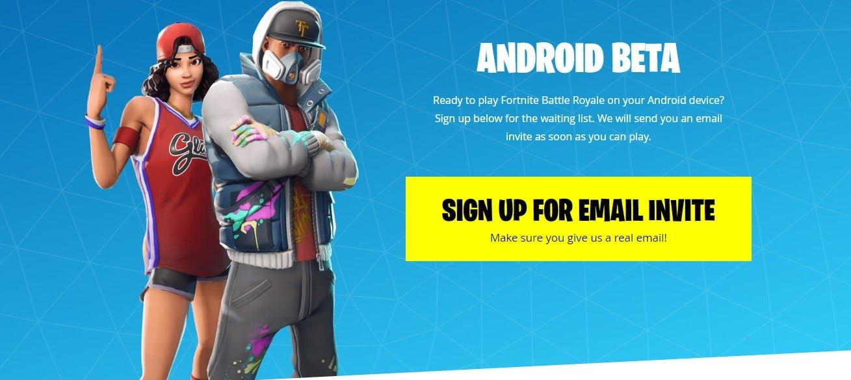 fortnite android beta apk free