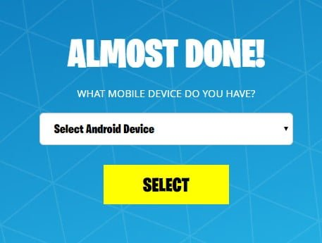 fortnite mobile installer