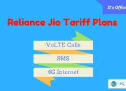 [Official] Reliance Jio 4g VoLTE Tariff Plans Complete List