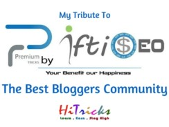 Premium Tricks by IftiSEO (PTI): The Best Bloggers Community