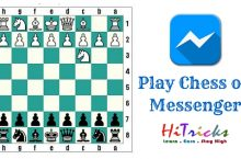 SECRET Trick to Play Chess on Facebook Chat Messenger