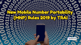 New TRAI Mobile Number Portability (MNP) Rules 2019