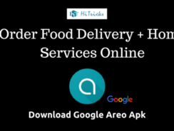 Download Google Areo Apk: Food Ordering & Home Services App