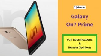 Samsung Galaxy On7 Prime Full Phone Specifications & Honest Opinions