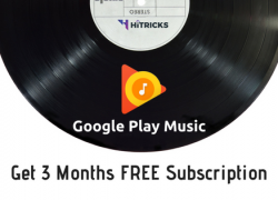 [COUPON] Get 3 Months Google Play Music Subscription FREE