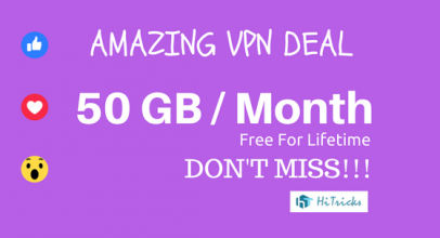 WindScribe VPN: Get 50GB/Month VPN Free for Lifetime [COUPON]