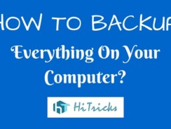 How to Backup Everything on Windows using Todo Backup?