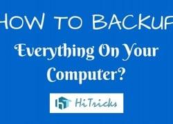 How to Backup Everything on Windows using Todo Backup?