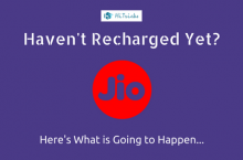WARNING Jio Users: Here's What Will Happen if you Don't Recharge