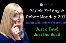 Black Friday + Cyber Monday 2016 Deals and Discount Coupons