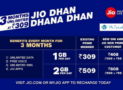 Jio Dhan Dhana Dhan Offer replaces Summer Surprise Offer