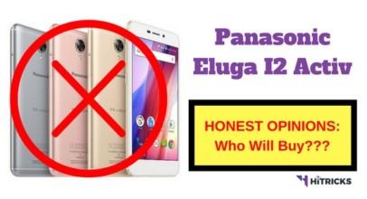 Panasonic Eluga I2 Activ Full Phone Specifications and Honest Opinions
