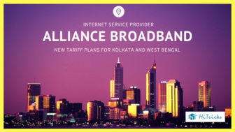 Alliance Broadband Kolkata New Tariff Plans [w.e.f. April,2017]