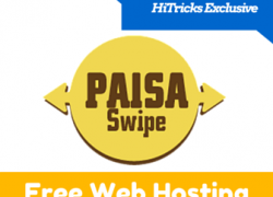 Get Free Web Hosting from Paisa Swipe
