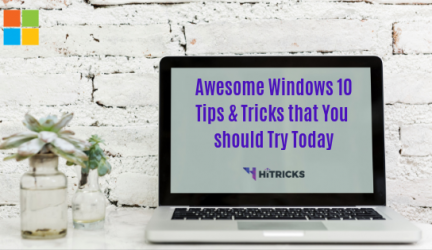Awesome Windows 10 Tricks 2019 That You Should Try Today