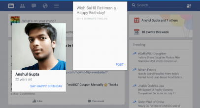 Facebook Beta: Website Features Coming to Android App