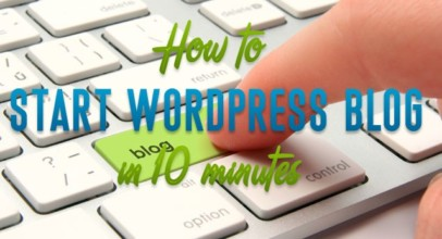 How to start a wordpress blog with free hosting?