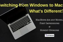 Switching from Windows to MacBook Air: My Honest Opinions
